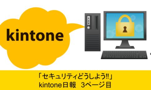 kintoneセキュリティ