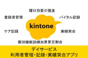 kintoneデイサービス総合アプリ