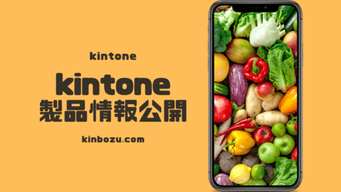 kintone製品情報を一般公開する