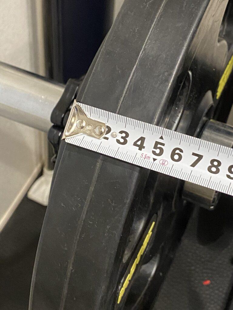 IROTEC オリンピックプレートは約4.5cm